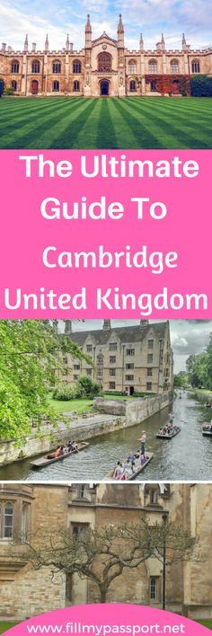 This is the Best Guide to Living in Cambridgeshire England - Fill My Passport