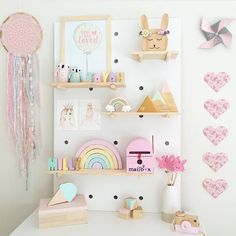 """171 Likes, 8 Comments - Kids Decor - Wild River (@wild_river_) on Instagram: """"Peg board perfection by the very clever @a_perfect_obsession setting our mountain heart set on…"""""""