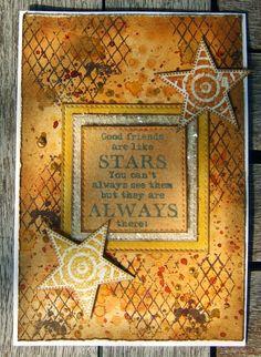card star stars Kort med stjerne Karte Sterne
