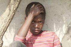 Zo troffen we Steven aan toen we de eerste keer aankwamen in Oeganda. Dennis Brussaard - Dlgr.nl