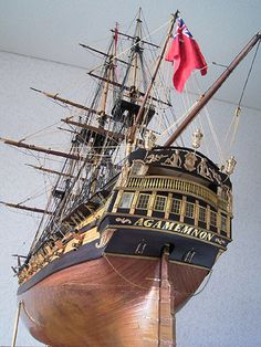 アガメムノン(Agamemnon) 帆船模型