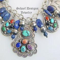 Hopi Jewelry Hallmarks | silver, navajo pearl, native american charms bracelet | online Jewelry ...