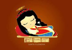 Saint Philomena, New Work, Disney Characters, Fictional Characters, Saints, Disney Princess, Peace, Art, Women