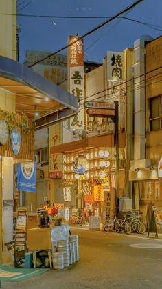 Aesthetic Japan, Japanese Aesthetic, City Aesthetic, Travel Aesthetic, Aesthetic Anime, Aesthetic Photo, Anime Scenery Wallpaper, Aesthetic Pastel Wallpaper, Aesthetic Backgrounds