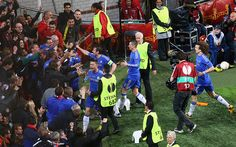 What a climax. Every bit as dramatic as the final in Munich - Europa League final: Benfica v Chelsea