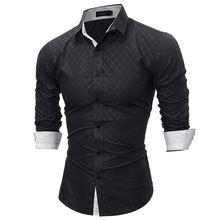 bd1c26340178e 2018 New plaid shirt Casual Fashion Brand Casual Shirt Long Sleeve Men S  Shirts Slim Fit Shirt Men Camisa Masculina XXL