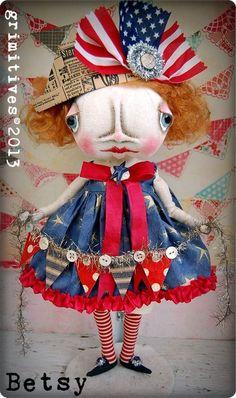 folk art dolls - Bing Images