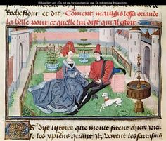 The Garden of Love   Loyset Liedet  mid 15th century
