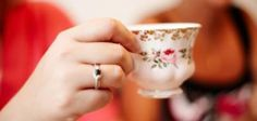 A church tea party is a time to pull out those elegant china teacups.