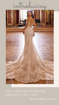 Wedding Dress Backs, Gorgeous Wedding Dress, Fall Wedding Dresses, Glamorous Wedding, Wedding Dress Styles, Designer Wedding Dresses, Wedding Gowns, Bridal Outfits, Bridal Dresses