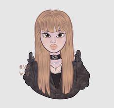 Lisa from Blackpink 🖤💕  #blackpink #lisa #kpop #art