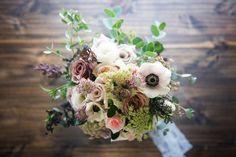 Boho Gypsy Bride Wedding Flowers