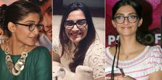 Sonam Kapoor in Spectacles