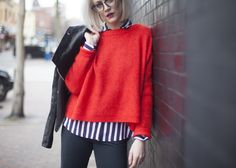 Casual Valentine's Look in Malene Birger Cashmere