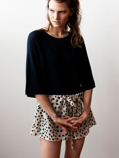 Lonely Lounge Drawstring short - Nude dot. <3