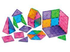 Lyric: Magnetic Tiles. Magna-Tiles® - Starter Set at Lakeshore Learning
