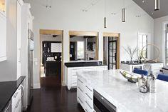 Quartz countertops that look like marble
