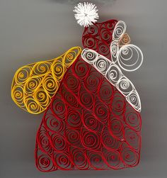 Santa Ornament  by tj4heels, via Flickr