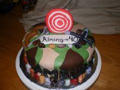 Hunting cake idea #3