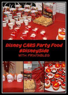 Disney CARS Party Food #DisneySide
