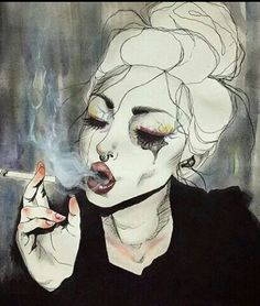 Kai Fine Art is an art website, shows painting and illustration works all over the world. Arte Inspo, Kunst Inspo, Art Pop, Aesthetic Drawing, Aesthetic Art, Aesthetic Painting, Art Anime, Wow Art, Dark Art