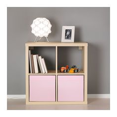 DRÖNA Laatikko - vaalea roosa - IKEA