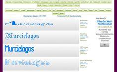Tipografias, más de 9300 fuentes de texto gratuitas para descargar