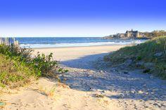 South Kingstown estate rental - View of closest beach/Narragansett miles Narragansett Rhode Island, Rhode Island Beaches, South Kingstown, Scarborough Beach, England Beaches, Thing 1, All I Ever Wanted, Vacation Spots, East Coast