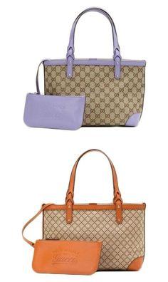 Authentic Gucci Craft Gg Canvas/Diamante Tote Bag Handbag W/Pouch, 269878