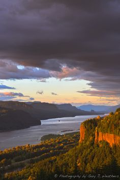 Sunset, Columbia River Gorge