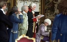 """The Austrian Court. Amadeus...""""too many notes your majesty""""."""