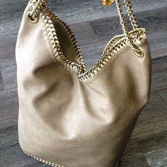 Instagram photo by twicethestyle - Better pic of this gorgeous Stella McCartney bag $600 #stellamccartney #twicethestyle #resale #consignment #consignmentstore #luxury #designer #instafashion