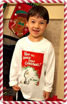 Boys Grinch Shirt Christmas applique Shirt Top Mr Grinch Max size 2T 3T 4T 5T 4/5 5/6 7/8 10/12 14/16