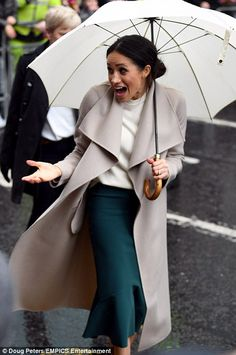 A relaxed and personable Meghan wowed the thousands of people who gathered in the streets of Belfast to catch a glimpse of Meghan and Prince Harry