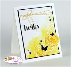 Stampin Up Snuggles and Smooches, card by Sandi @ www.stampingwithsandi.com