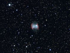 M27 Dumbbell Nebula [2148x1656][OC]