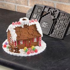 Paula Deen Gingerbread House Mold..so cool!!