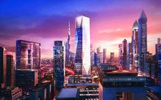 Foster + Partners break ground on the crystalline ICD Brookfield Place skyscraper in Dubai