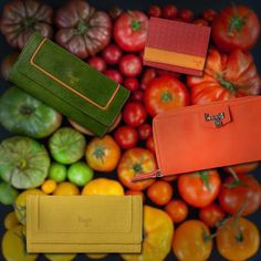 Baggit designers are inspired by the fresh colours of these organic veggies to craft a variety of wallets for women. #colors #BaggitWallets #Inspiration