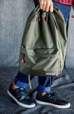 Green bag.