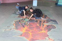 Vẽ tranh 3D bởi hoạ sĩ Thái Luận 01663060008