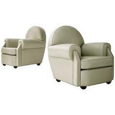 Vittorio Valabrega Leather Lounge Chairs