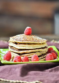 Biggest Loser Pancakes - you won't believe the ingredients and you won't believe how good they are.