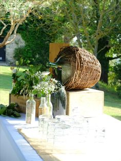 Country Chic Wedding Decoration Style