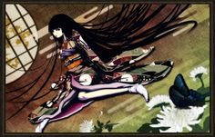 Kai Fine Art is an art website, shows painting and illustration works all over the world. Enma Ai, Twilight Princess Midna, Hell Girl, Tokyo Otaku Mode, Anime Figures, Japanese Culture, Manhwa, Pop Culture, Creepy