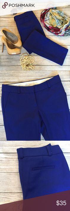 "LOFT Marisa Pants Vibrant blue color. Front and back pockets. 28"" inseam. Excellent condition. 🚫NO TRADES/NO MODELING🚫 LOFT Pants Skinny"