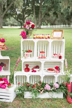 A sweet and whimsical strawberry wedding inspiration shoot by Artful Adventures Photography