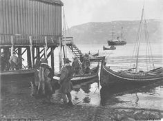 Nordland boats - Viking and Norwegian wooden boats - Viking ships and Norse wooden boats