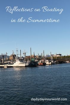 Reflections on Boating in the Summertime all images taken in Alaska #DiscoverBoating #Sponsored #MC