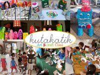 Kutakatik Art & Craft - Fun Courses - Liburan Anak